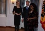 German President Christian Wulff Honors Sylvaina Gerlich